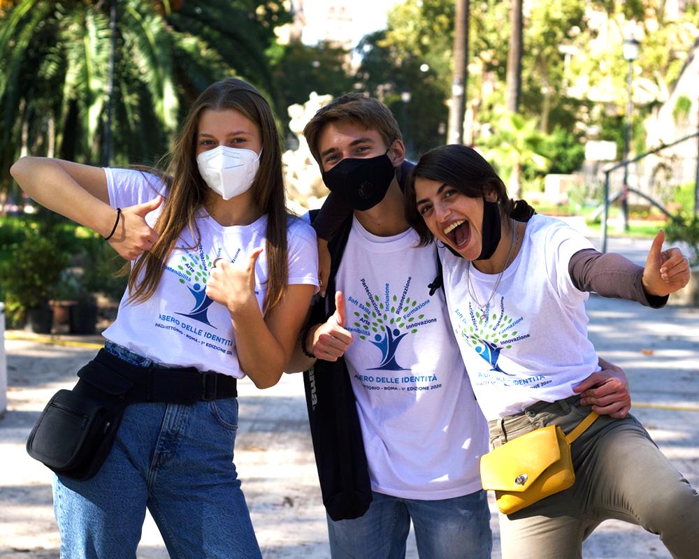 Progetto Albero Identità Piazza Vittorio - Roma- Happy coaching and counseling